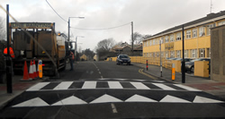 Hearne Line Marking - Zebra Crossing Road Marking - hot thermoplastic line marking paint